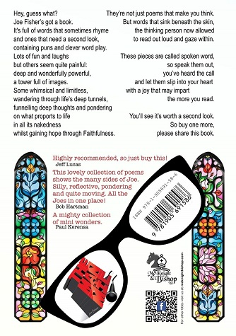 back cover of faith, hope and nudity